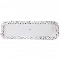 Bandeja cartón laminada blanca Ready 11,5X35 p.100