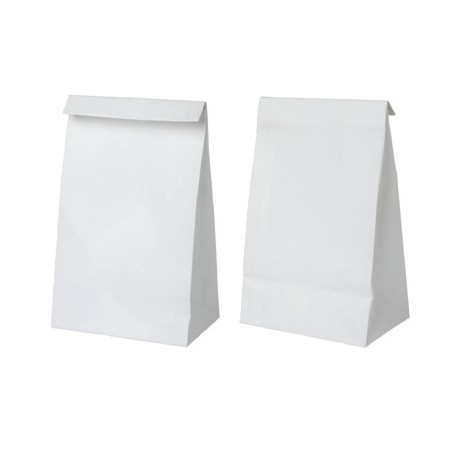 Bolsa SOS blanca 180+110x350 c.500