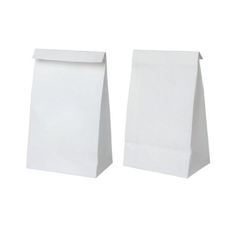Bolsa SOS blanca 300+180x430 c.250