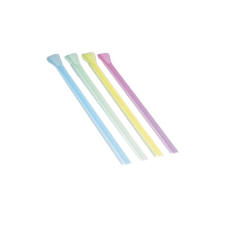 Canya recta cullera fluor p.4X250
