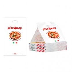 Bolsa PizzAway Small 30x51 c.600