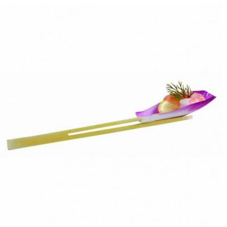 Pincho bambú doble punta 10cm c.2000
