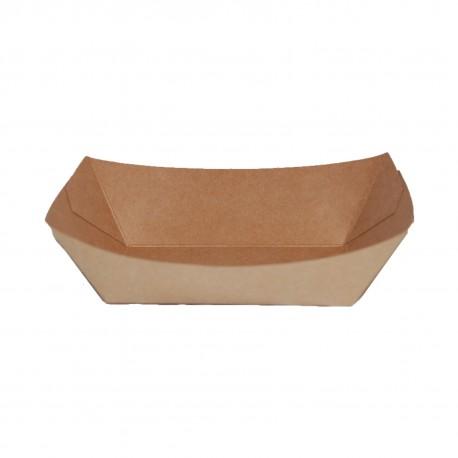 Barquilla cartón kraft 135x85x55 c.500