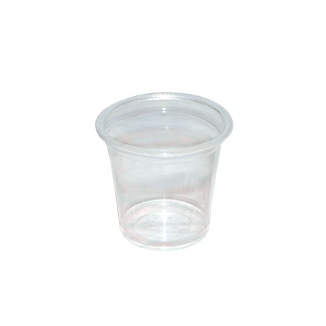 Vaso transp. degustación PS 30cc p.100