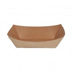 Barquilla cartón kraft 105x65x45 c.1000
