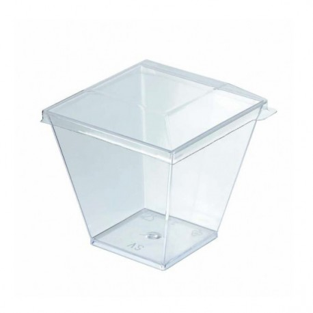 Tapa para vaso cuadr. cóctel Zeno 100cc c.600