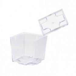 Tapa para vaso plástico cúbico 52x52 c.576