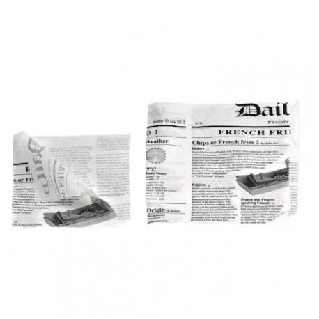 Bolsa abierta antigrasa New Times 17x17 c.1000