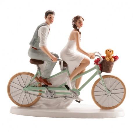 Pareja boda Bicicleta 16x18cm p.2