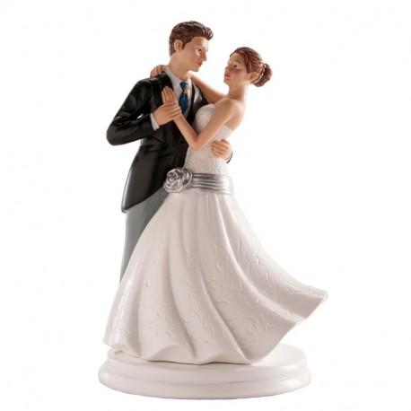 Pareja boda Bailando 20cm p.2