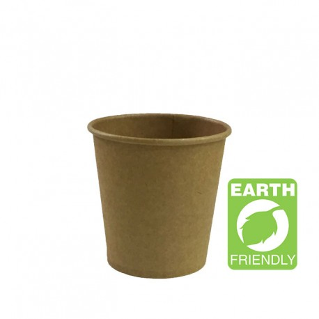 Vaso papel 100cc coffee kraft p.50