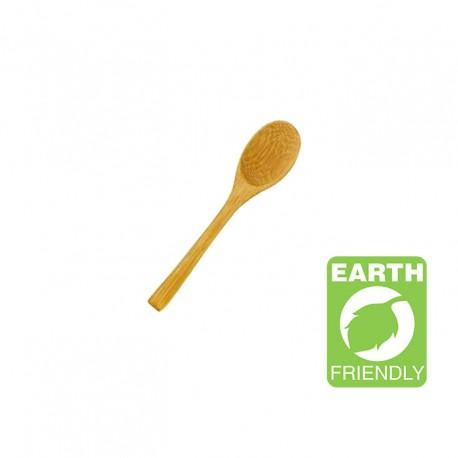 Cuchara bambú 12cm c.250