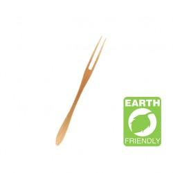 Forquilla plana bambú 16,5cm c.500