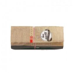 Bolsa Snack Bag kraft 33x7x16,5cm c.500