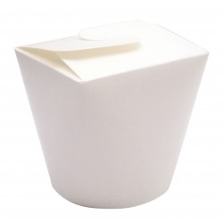 Envase para snacks blanco TP 800ml p.50