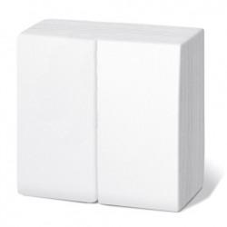Servilleta 30x40 pta-pta 1/6 blanca c.2400