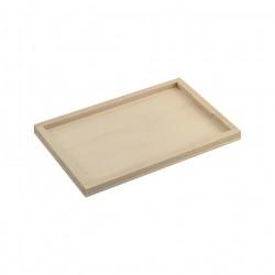 Bandeja madera GN1/4 265x175x10 c.30