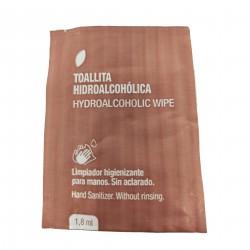 Toallita gel hidroalcohólico 100% compost. c.1000