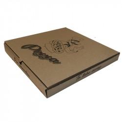 Caja pizza kraft 33x33x3 Innova p.150