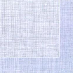 Servilleta 40x40 Spunlace blanca h.azul c.400