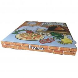 Caja pizza 40x40x3,5 Vesuvio p.50