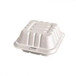 Caja hamburguesa fibra mold. 15x15x5cm p.50