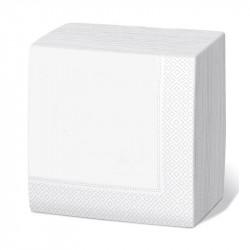 Servilleta 33x33 2c blanca c.2400
